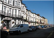 TG5307 : Terrace of houses in Prince's Road by Evelyn Simak