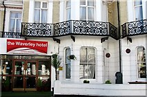 TG5307 : The Waverley Hotel (entrance) by Evelyn Simak