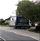 ST3091 : Brace's Bakery van on a Malpas corner, Newport by Jaggery