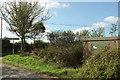 SX6756 : Gas cabinet, Hillhead Cross by Derek Harper