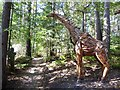 SU8739 : Sculpture of Giraffe and young by Oliver Dixon