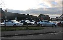 TL2249 : Mercedes dealer on King Street, Potton by David Howard