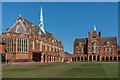 TQ1656 : The dining hall and Gloucester House, St John's School by Ian Capper