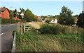 SX8966 : Gate on Centenary Way, The Willows by Derek Harper
