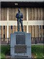 SJ8847 : Reginald Mitchell Statue, Hanley by Brian Deegan