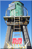 NZ8911 : West Pier Beacon, Whitby by Stephen McKay