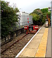 SS9079 : Buffer stop below platform 1A at Bridgend station by Jaggery
