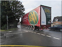 ST3090 : Fagan & Whalley lorry H745, Malpas Road, Newport by Jaggery