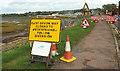 SX9981 : East Devon Way closed by Derek Harper