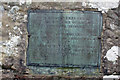 NY4430 : Deteriorating plaque by Richard Dorrell