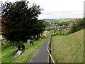 SO1073 : Yew in St Cynllo's churchyard, Llanbister by Jaggery