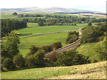 SD9657 : View north-west near Rylstone by Stephen Craven