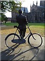 SO5139 : Statue of Sir Edward Elgar by Philip Halling