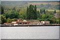 NS3783 : Loch Lomond, Duck Bay Marina by David Dixon