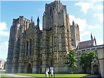 ST5545 : Wells Cathedral [1] by Michael Dibb