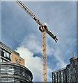J3373 : Crane, Bedford Square (Ewarts site), Belfast (September 2019) by Albert Bridge