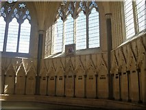 ST5545 : Wells Cathedral [9] by Michael Dibb