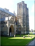 ST5545 : Wells Cathedral [19] by Michael Dibb