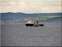 NS1238 : The Isle of Arran Ferry by David Dixon