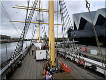 NS5565 : SV Glenlee at the Riverside Museum, Glasgow by David Dixon