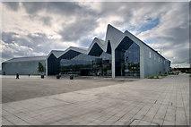 NS5566 : Glasgow Riverside Museum by David Dixon