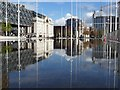 SP0686 : Water feature in Centenary Square by Philip Halling