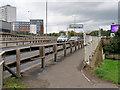 NS5566 : Walkway alongside Clydeside Expressway by David Dixon