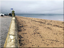 NS3321 : Esplanade and Beach at Ayr by David Dixon