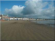 SY6879 : Weymouth Beach by W