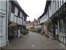 SP0957 : Old houses in Malt Mill Lane Alcester by Rod Allday