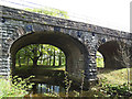 SD9056 : Bell Busk railway viaduct - river span by Stephen Craven