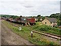 SP0229 : GWSR Sidings at Winchcombe by David Dixon