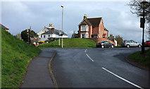 SY9287 : Junction by the Town Walls, Wareham by Derek Harper