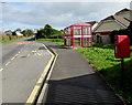 SN4324 : Queen Elizabeth II postbox, Peniel, Carmarthenshire by Jaggery
