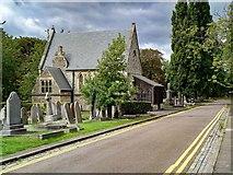 TQ2673 : Wandsworth : chapel, Wandsworth (Earlsfield) Cemetery by Jim Osley
