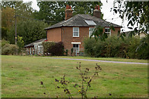TL8928 : The old Railway Tavern at Chappel & Wakes Colne by Roger A Smith