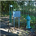 NS7993 : Old drinking fountain by Lairich Rig