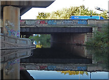 SP0990 : Salford Junction - looking along the Tame Valley Canal by Chris Allen