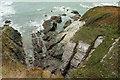 SX6146 : Inlet near Fernycombe Point by Derek Harper
