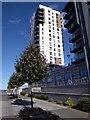 TQ7769 : Peninsula West Tower by David Anstiss