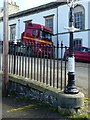 NJ5167 : Cast iron lamp-post, The Square, Cullen by Alan Murray-Rust