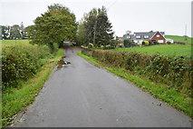 H6056 : Hidden bridge along Ballynasaggart Road by Kenneth  Allen
