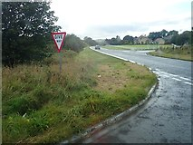 J0226 : View West along the A25 (Newtown Road) by Eric Jones