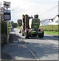 SN4324 : Krone Big M Mower in Peniel, Carmarthenshire by Jaggery