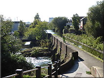 SP0990 : Birmingham & Fazeley Canal crossing the River Tame by Chris Allen