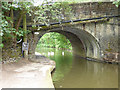 SD9827 : Hebble End bridge, with swans by Stephen Craven