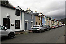 SC4384 : Dumbells Terrace, Mines Road, Laxey by Jo Turner