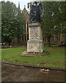 SO8554 : The South African War Memorial outside Worcester Cathedral by David Dixon