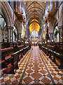 SO8554 : The Quire, Worcester Cathedral by David Dixon
