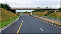 S0884 : Bridge over the Westbound M7, Co Tipperary by David Dixon